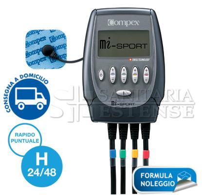 Sanitaria Estense Este noleggio elettrostimolatore compex sport 500 per riabilitazione e sport